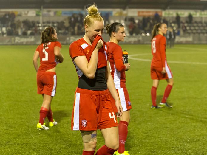 Geen prijs  voor FC Twente Vrouwen.