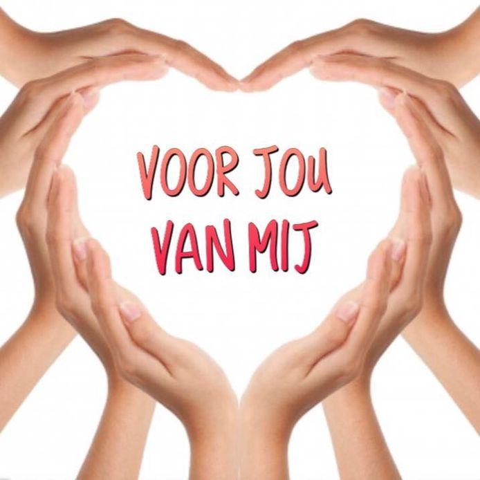 Logo van de actie 'Voor jou, van mij'