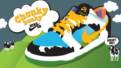 Om blij van te worden: Nike & Ben & Jerry's brengen samen een vrolijke sneaker op de markt