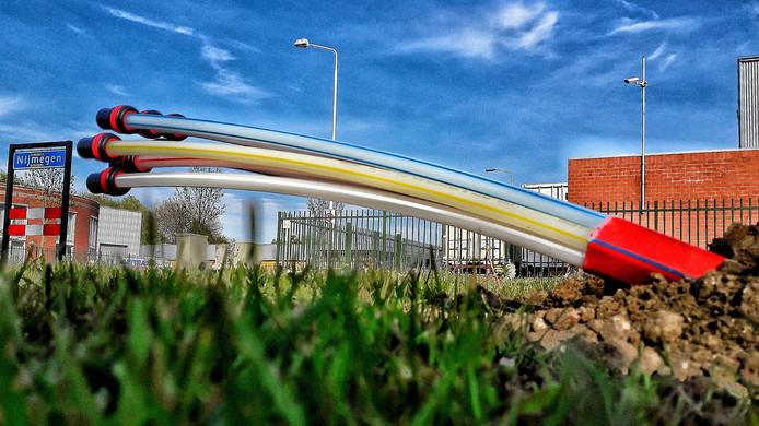 E-Fiber legt glasvezel aan in het buitengebied en in de bebouwde kom van het Land van Cuijk.