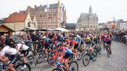Ronde van Vlaanderen: veel belangstelling voor start van dames op Markt in Oudenaarde