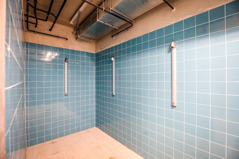 Ook moderne douches zijn in het complex aanwezig.