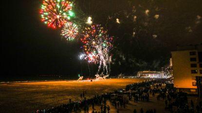 Oostende zet nieuwe jaar in met sfeervol vuurwerk