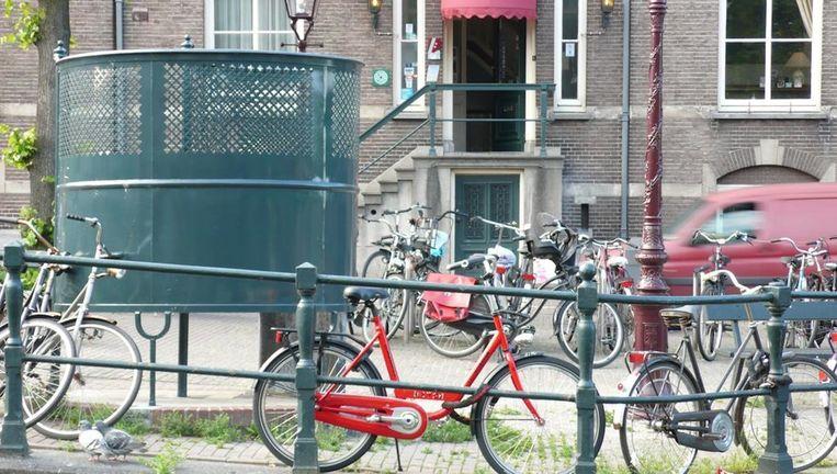De krul is een herkenbaar onderdeel van het Amsterdamse straatmeubilair. Beeld Uncle.o. via Flickr