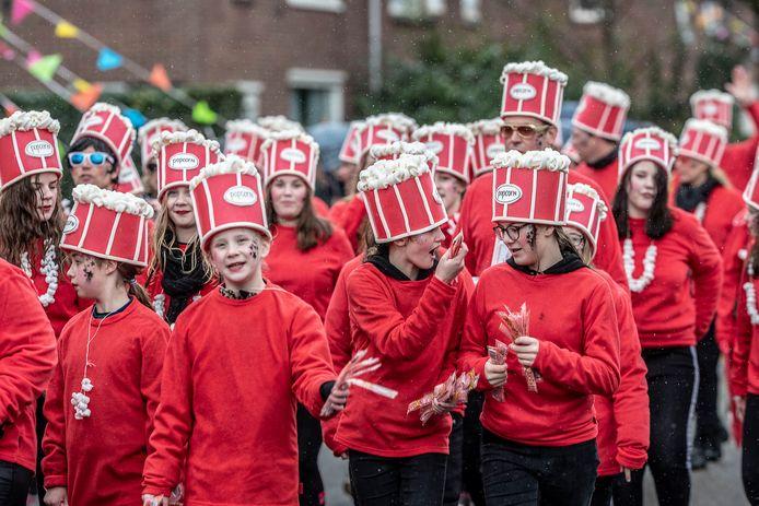 Een beeld van de carnavalsoptocht in Ulft in 2019.