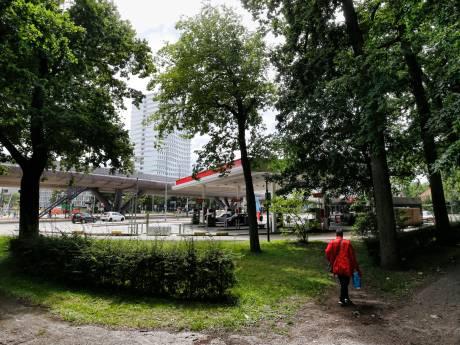 Lachgasgebruik, geschreeuw, prostitutie: omwonenden willen dat tankstation 24 Oktoberplein 's nachts dichtgaat