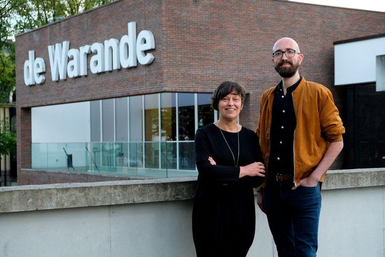 Kathleen Helsen en Jeroen Luyten, nieuwe directeur van de Warande.