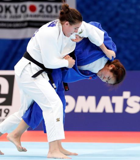 Opnieuw geen NK judo voor Steenhuis