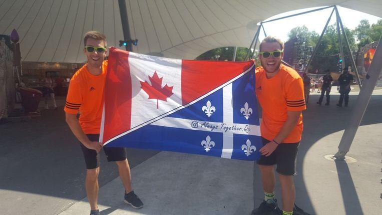 Francis en Antoine uit Canada.