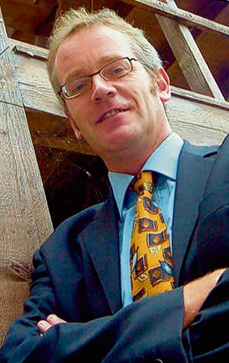 Gertjan Huismans, VVD-fractievoorzitter in Bergen op Zoom.