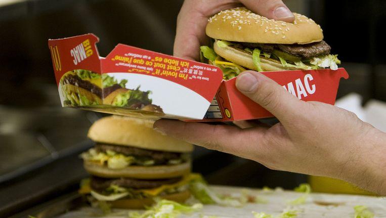Vestiging van fastfoodketen McDonald's in Tiel Beeld ANP