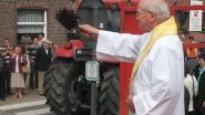 KLJ organiseert opnieuw tractorwijding aan  Sint-Blasiuskerk