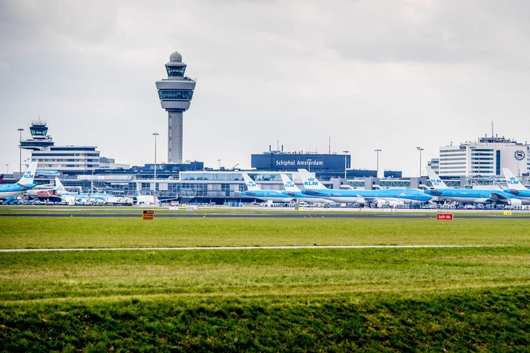Schiphol.  Beeld ANP