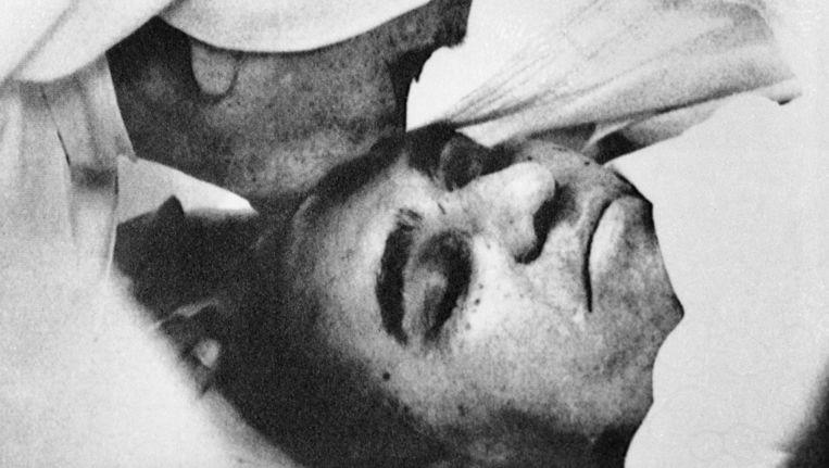 Aartsbisschop Romero werd in 1980 tijdens een eucharistieviering door een rechts doodseskader vermoord.