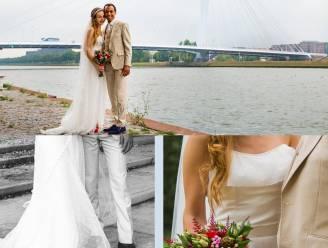 Deze vrouw maakte haar bruidsjurk zelf, met ... IKEA