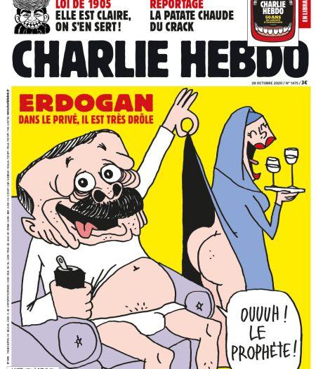 Turkije kondigt juridische stappen aan vanwege Erdogan-cartoon