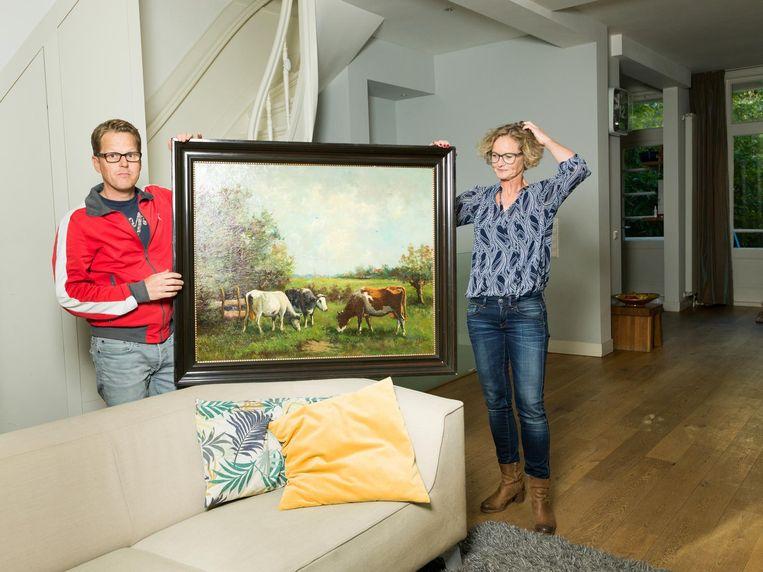 Dennis van Alphen: 'Die koeien hebben emotionele waarde' Beeld Ivo van der Bent