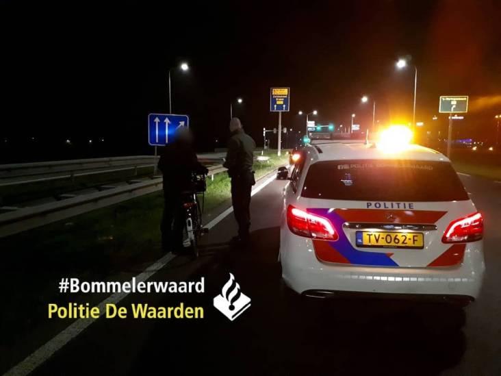 Man kiest kortste route naar Den Bosch en fietst over N322