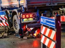 Vrachtwagenchauffeur schuldbewust na ongeluk bij spoor: 'Het was een inschattingsfout'