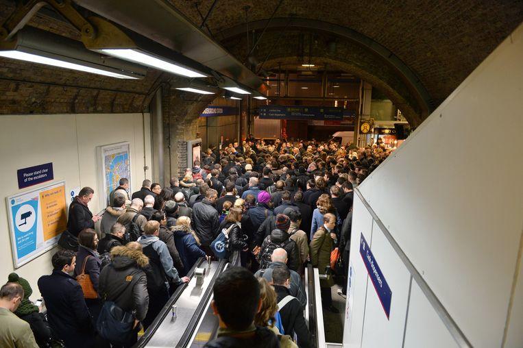 Elke dag maken tot 5 miljoen mensen gebruik van de Londense metro.