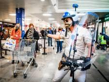 Winkelcentrum Sterrenburg: Coronapolitie groot succes