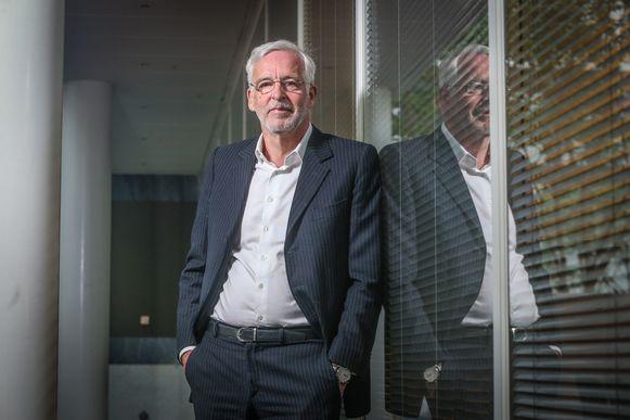 """Open Vld-lijsttrekker Christian Leysen nam het lijsttrekkerschap voor het federale parlement van Philippe De Backer over. """"Er is meer ondernemingsgeest nodig in de politiek. Met een slankere overheid die efficiënter omgaat met de middelen."""""""