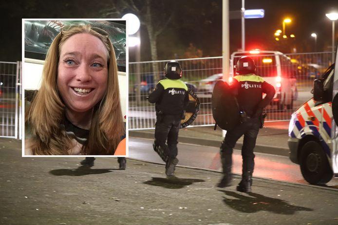 Ilona Storm, de moeder van het 9-jarige jongentje dat gisteravond is opgepakt doet haar verhaal tegen deze krant