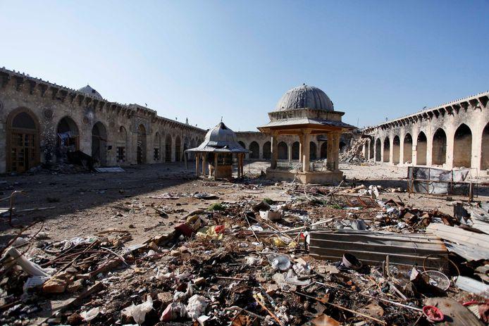 Aleppo zeven jaar geleden.