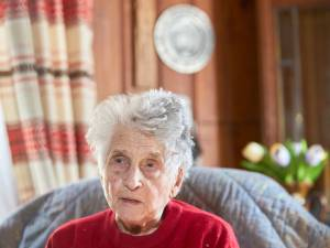 Gertrude, 95 ans, a survécu au Covid-19