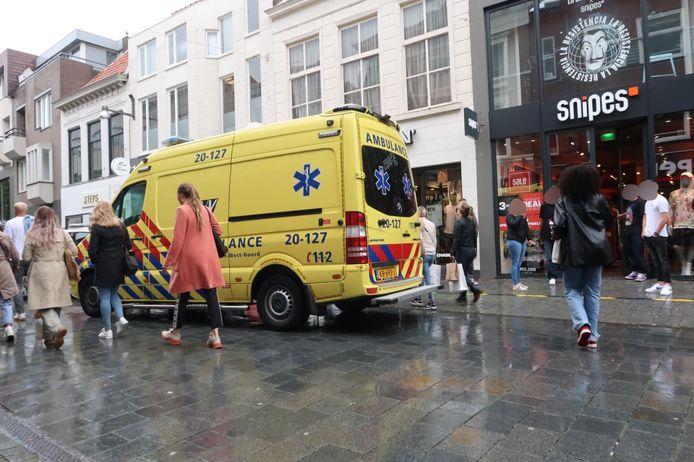 Vrouw ernstig gewond na val in Breda.
