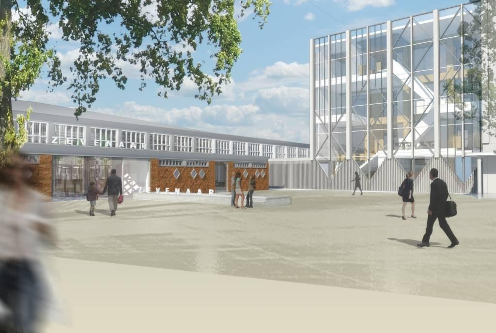 Nieuwe gemeentehuis zevenaar geopend video foto - Ingang van een huis ...