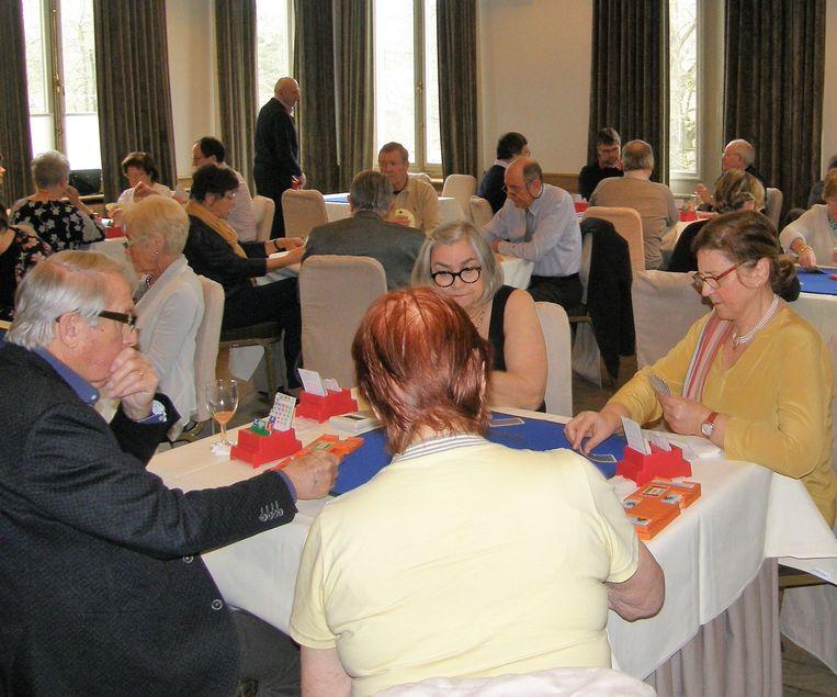 De Koninklijke Halse Bridgeclub organiseerde eerder al een bridgetornooi in het Gravenhof in Dworp.