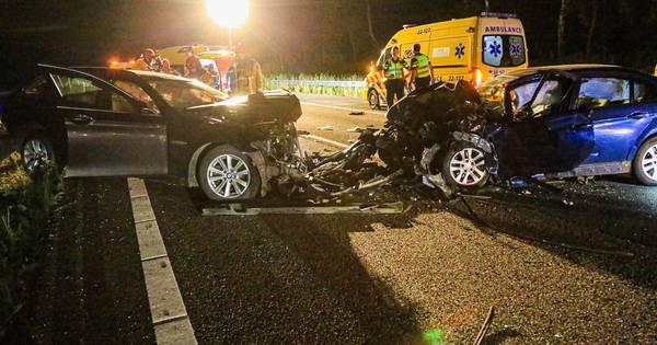 Spookrijder veroorzaakt ernstig ongeluk op A67 tussen Lierop en Asten.