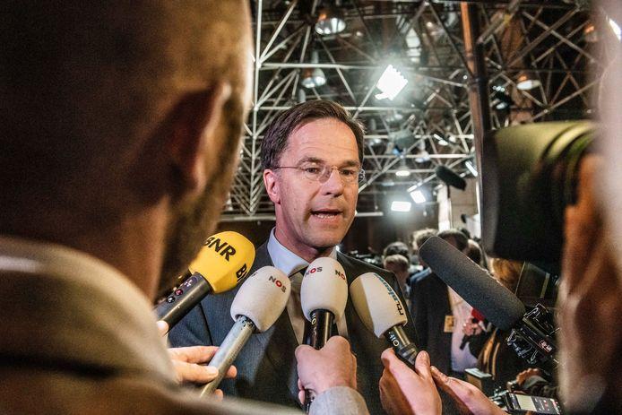 Minister President van Nederland Mark Rutte.