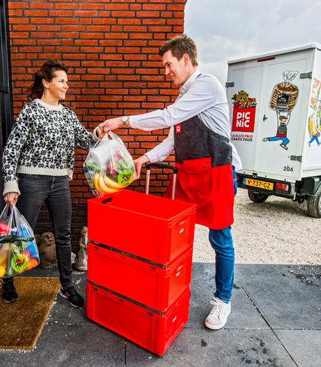 Online supermarkt Picnic pakt uit bij eerste klant in Rotterdam
