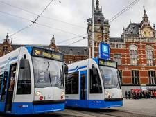 Verdachte koffers achtergelaten in tram Amsterdam