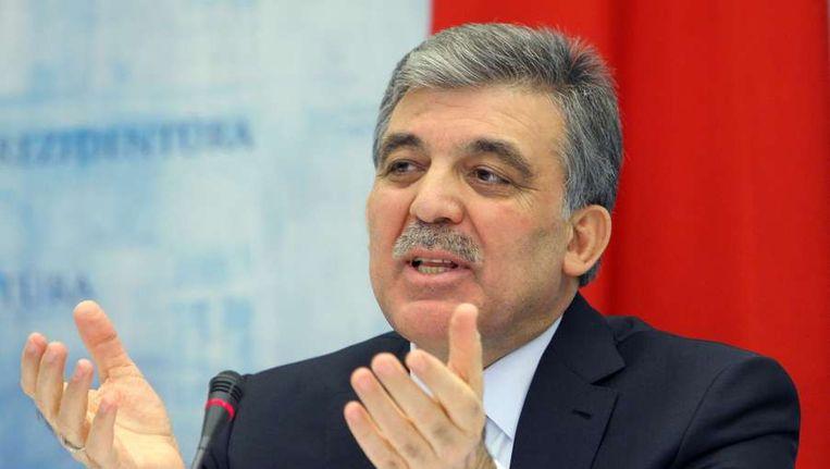 President Abdullah Gül van Turkije Beeld afp