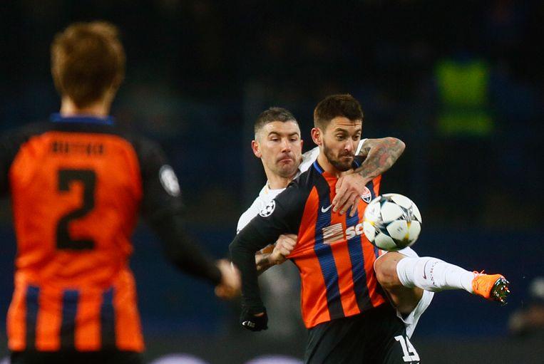 Ferreyra in het shirt van zijn ex-ploeg Shakhtar Donetsk.