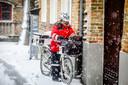 sneeuw te Brugge