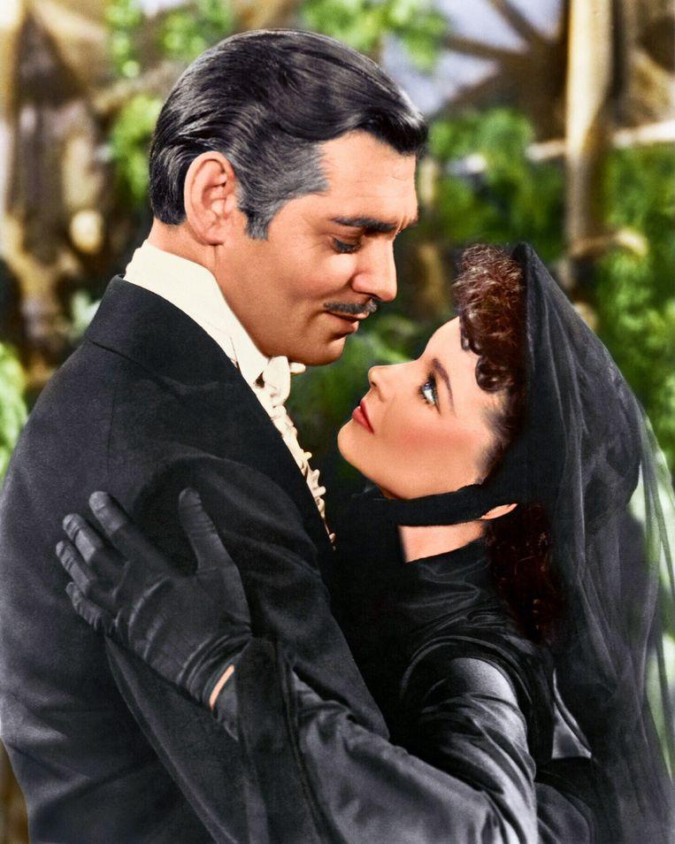 Clark Gable en Vivien Leigh.