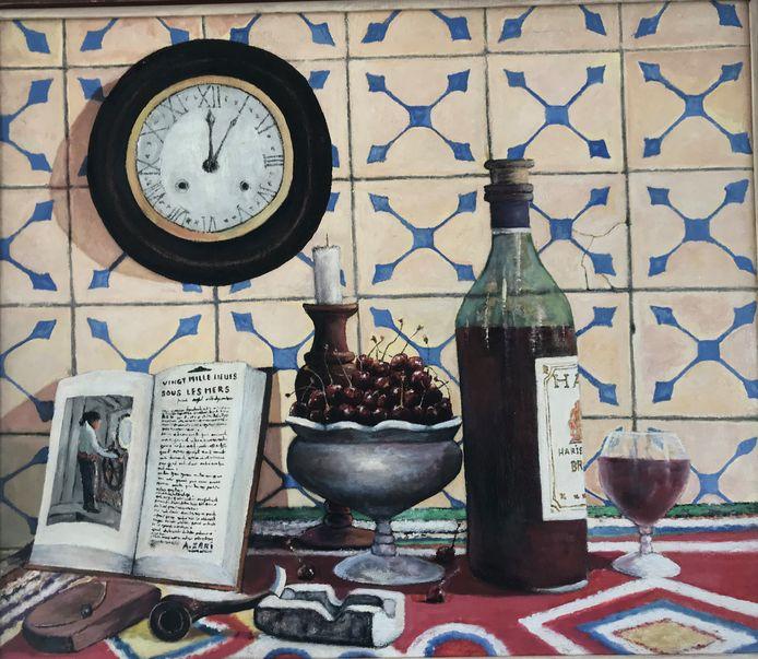Schilderij van Abdellah Zaki