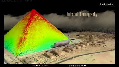 Grafkamer farao slaat energie op