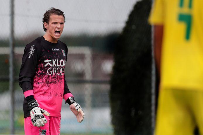 NEC-keeper Norbert Alblas.
