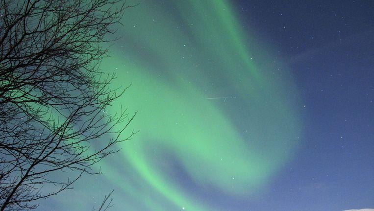 Noorderlicht boven Lapland. Beeld afp