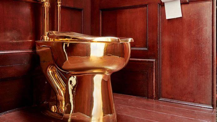 De 103 kilo wegende gouden pot