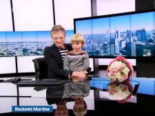 Vlaamse omroep neemt groots afscheid van nieuwslezer Martine Tanghe