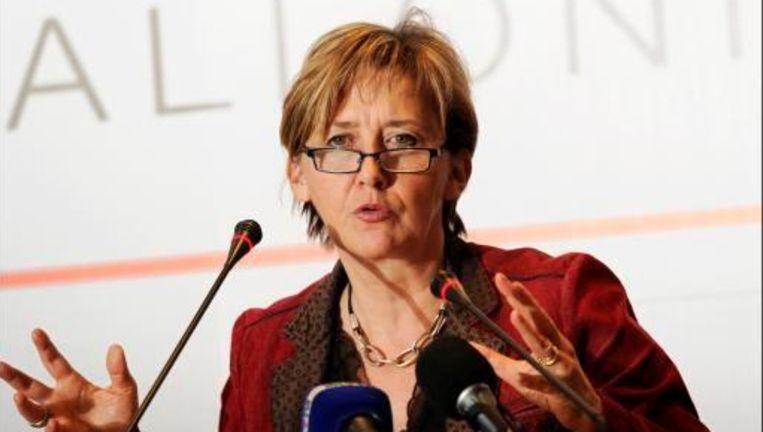 De vakbonden belden minister Marie-Dominique Simonet wakker.