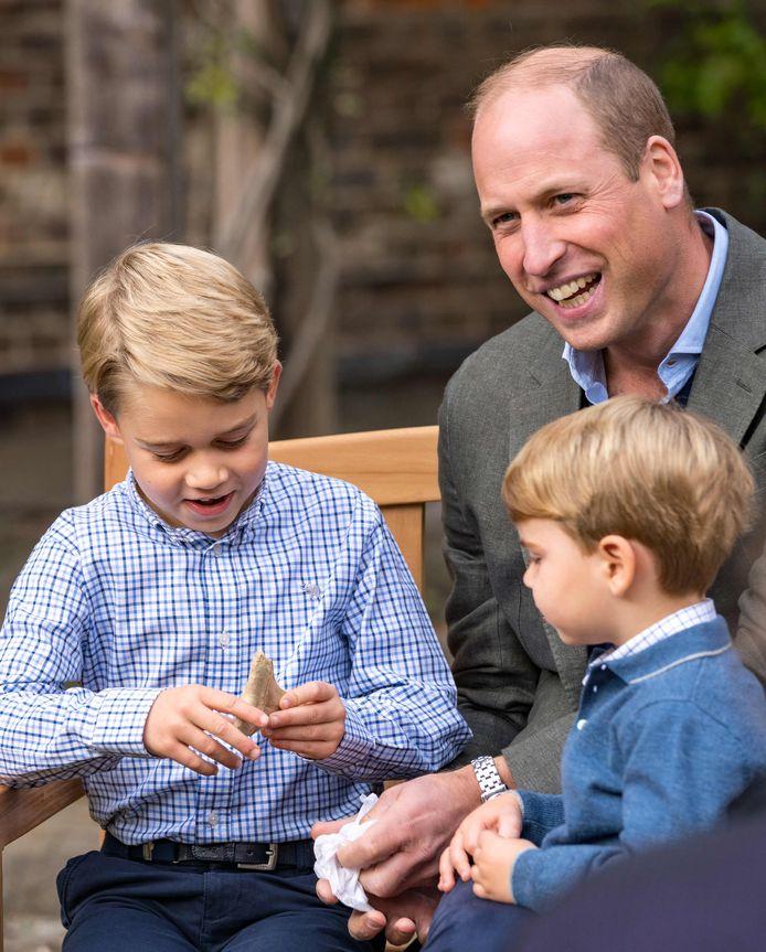 De tand viel erg in de smaak bij de 7-jarige prins.