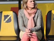 NAC-commissaris Cécile Koekkoek: 'Je moet je toch inhouden als je tussen de NEC-supporters zit'