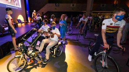De Peugeot Classic wordt 'In het Wiel van Het Ventiel' en brengt samen met Yves Lampaert en Linde Merckpoel jongdementie onder de aandacht